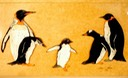 "#15.Penquins of Every Size & Shape, 11""x14"" - $5.00"