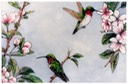 "#36.Ruby-throated Hummingbirds, 12""x16"" - $4.00"