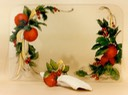 "#42.Christmas Apples & Holly placemant, 14""x18"" - $5.00"