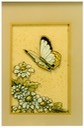 "#6.Butterfly - Touch of Gold, 4""x6"" - $3.00"