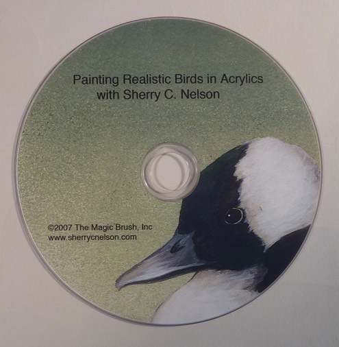 Painting Realistic Birds in Acrylic - $19.95