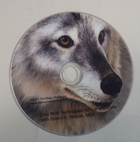 Grey Wolf : Techniques for Fur & Eyes - $19.95